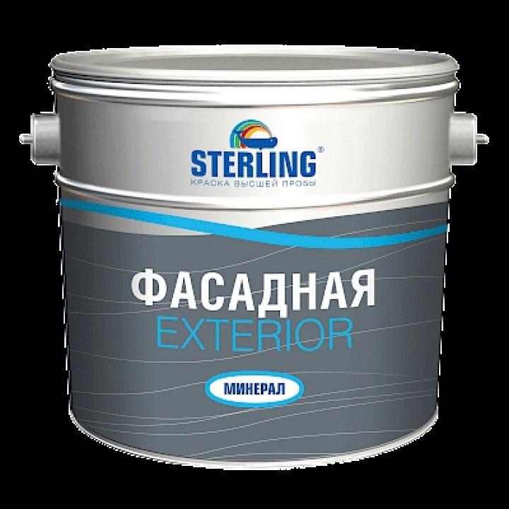 Краска фасадная STERLING ® Экстериор Минерал Матовая ВД-АК-111 (база А)