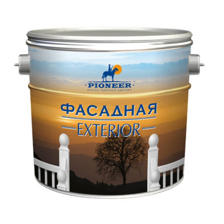 Краска PIONEER ® фасадная Матовая ВД-АК-131 (база С)