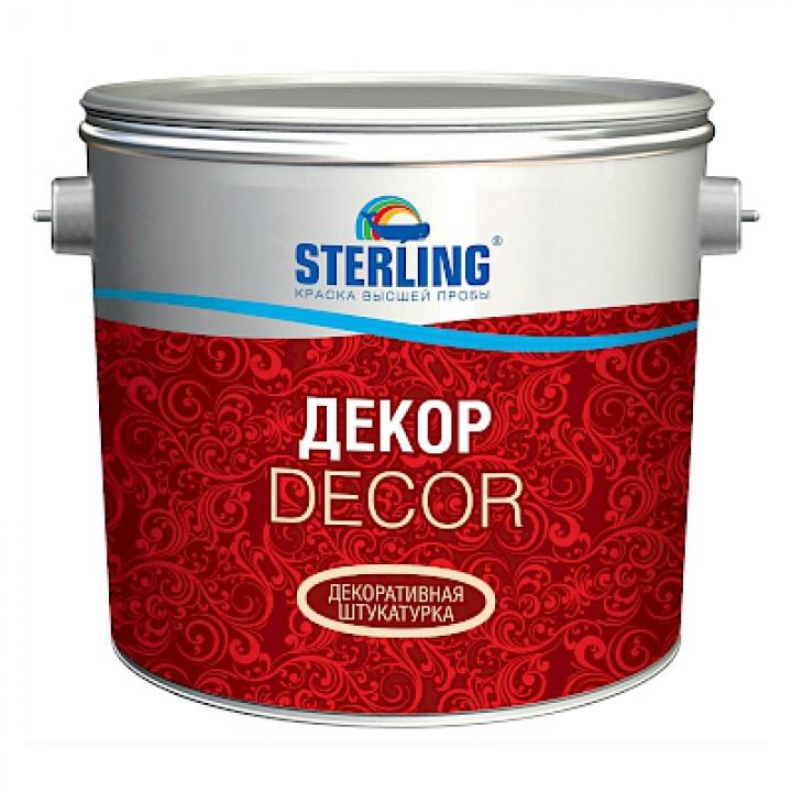 Штукатурка декоративная STERLING ®  КВАРЦДЕКОР для наружных и внутренних работ ВД-АК-142 мелкая фракция