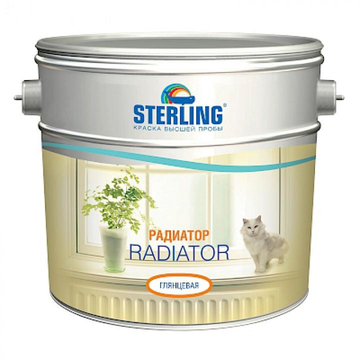 Краска алкидная STERLING ®  РАДИАТОР Полуматовая ПФ-116 (база С)