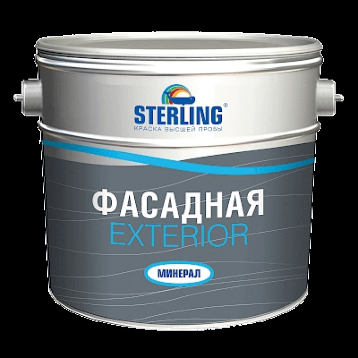 Краска фасадная STERLING ® Экстериор Минерал-сольвент Матовая АК-111 (база С)