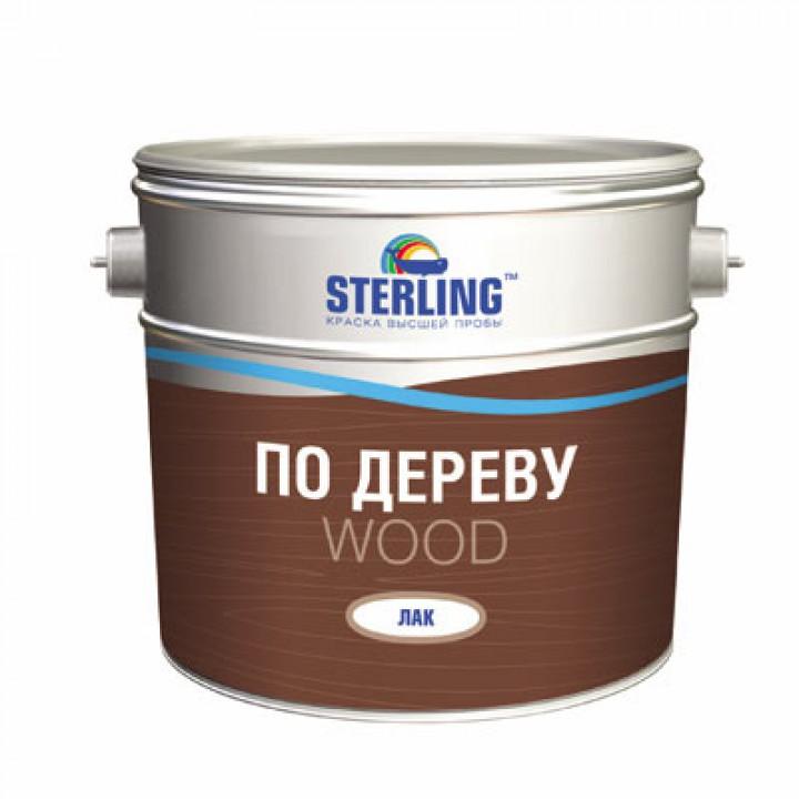Лак паркетный STERLING ®  80 Глянцевый АУ-111 (база ЕР)