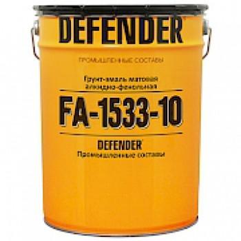 Грунт-эмаль фенол-алкидная DEFENDER® ФА-1533 (база С) Полуматовая