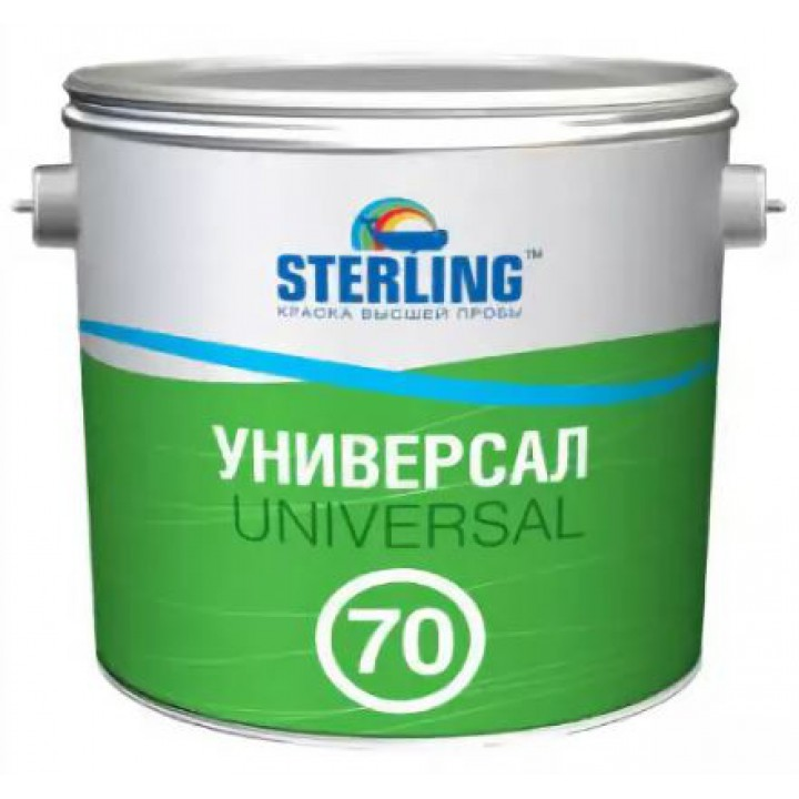 Краска алкидная STERLING ® Универсал 70 Глянцевая ПФ-116 (база С)