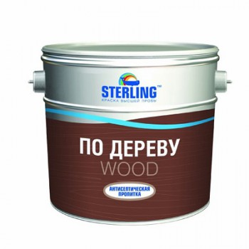 Пропитка акриловая по дереву STERLING ® Антисептическая пропитка ВД-АК-012 (база ЕС)