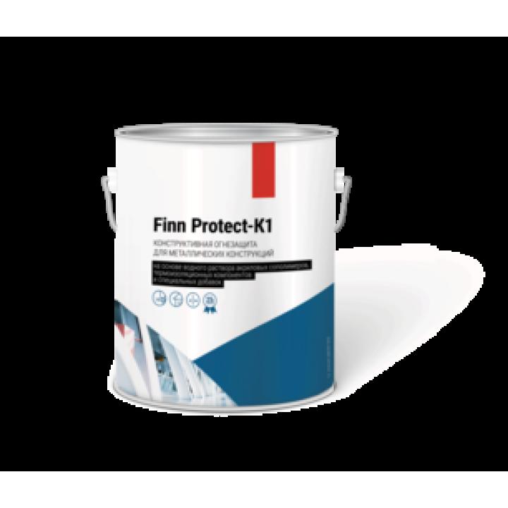 Огнезащитная обмазка (конструктивная огнезащита) для металлоконструкций Finn Protect-K1 Тип-1
