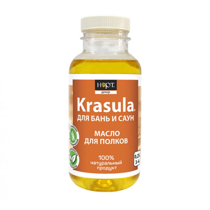 Защитный состав для бань и саун «KRASULA® масло для полков»