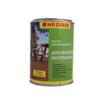 Масло древозащитное для мебели и интерьера NEOMID