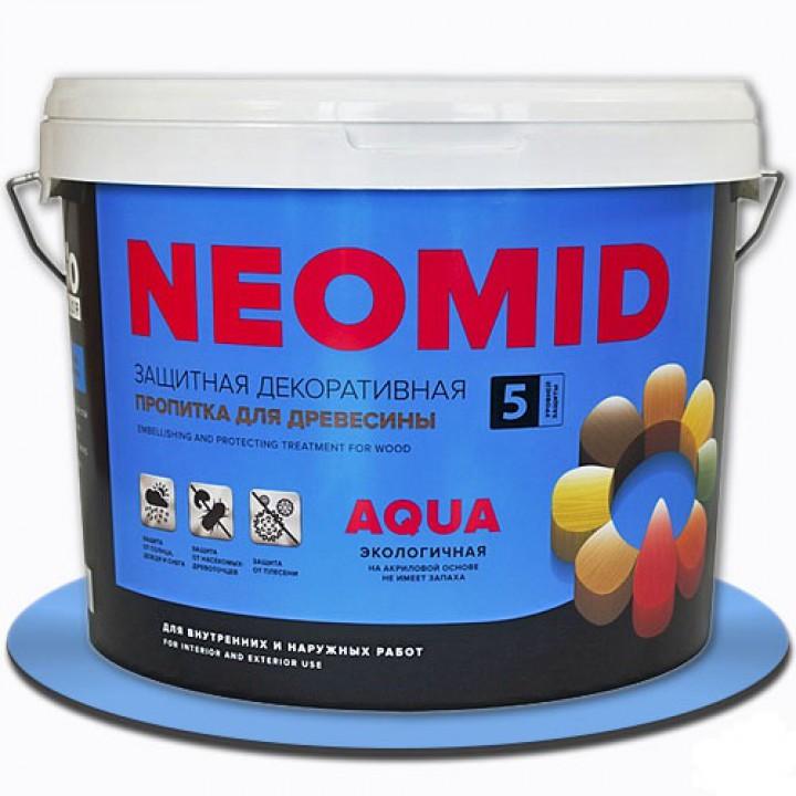 Защитная декоративная пропитка NEOMID BIO COLOR AQUA