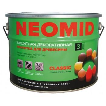 Защитная декоративная пропитка NEOMID BIO COLOR CLASSIC