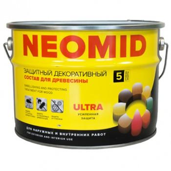 Защитная декоративная пропитка NEOMID BIO COLOR ULTRA