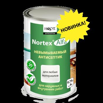 Невымываемый антисептик «Nortex®»-Alfa