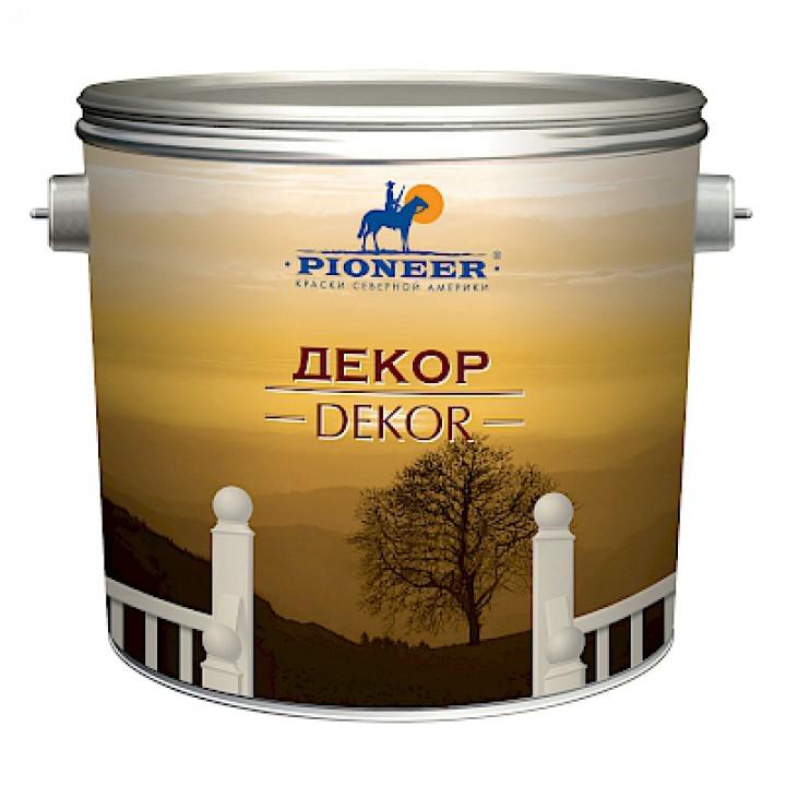 Декоративная штукатурка PIONEER ®  ДЕКОР для наружных и внутренних работ ВД-АК-132
