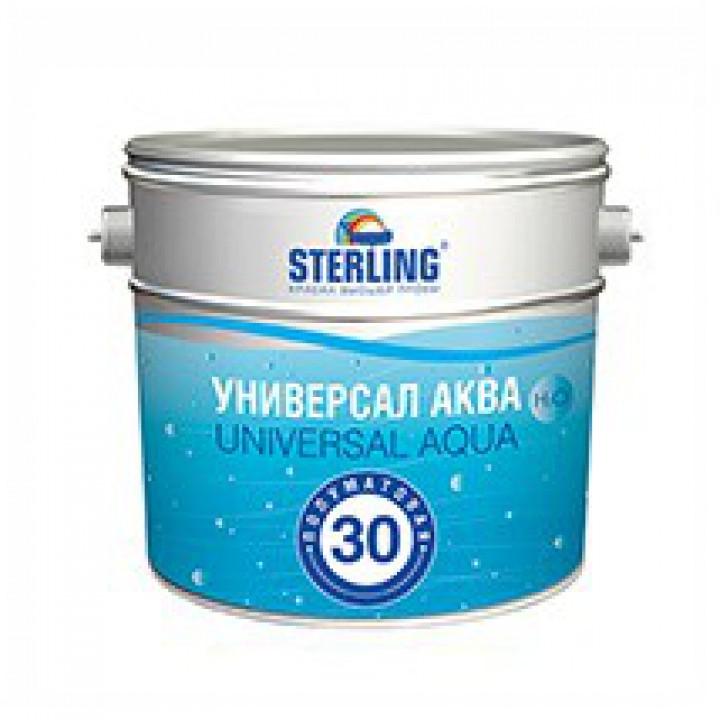 Краска STERLING ® Универсал Аква Полуматовая ВД-АК-151(база С)