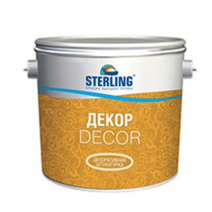 Штукатурка декоративная STERLING ®  КРЕАТОН для внутренних работ ВД-АК-231