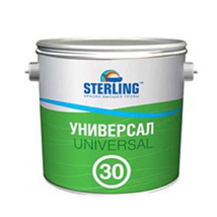 Краска алкидная STERLING ® Универсал 30 Полуматовая ПФ-116 (база А)