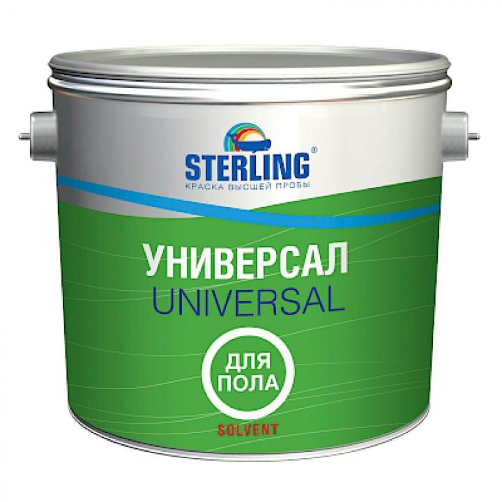 Краска уретан-алкидная STERLING ® Универсал для пола 70 Глянцевая ПФ-117 (база С)